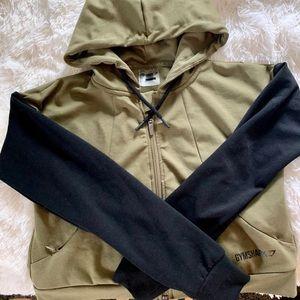 XS Gymshark Cropped Jacket